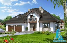 Dom w kalateach Home Fashion, Gazebo, House Plans, Exterior, Outdoor Structures, House Styles, Design, Home Decor, Diy