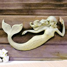 Sea Beauty Mermaid Wall Sculpture