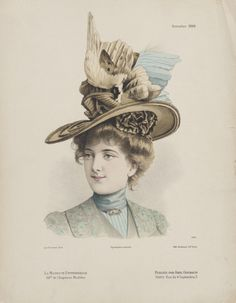 1899, France, Millinery Print | LACMA Collections