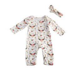 Girls' Clothing (newborn-5t) Expressive Baby Girls Boys Pink Blue Star Sleepsuit Romper Babygrow Headband Hat Nb-6 Mths