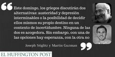 Argentina muestra a Grecia que hay vida después el impago, @JosephEStiglitz y Martin Guzman http://huff.to/1FVdxKh