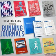 COMMIT TO YOUR 2015 RUNNING GOALS! New Running Journals are in stock...and they ROCK!