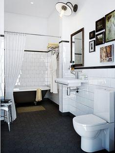 Banheiros retrô: uma paixão.