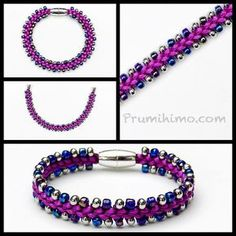 If you are new to the Prumihimo Disk, please use the instructions you were supplied with to learn the braid structure without beads first. Alternatively, click here to find instructions. Use contrasting colours of satin cord and beading cord so that you can see if you have made any errors. This is most likely to …