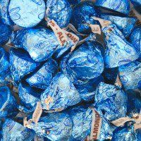 ○ Hershey Kisses with Almonds-Blue