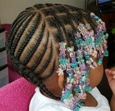 12 Things You Should Do In Toddler Braided Hairstyles With Beads - Braid Hairstyles for Kids - Baby Kids Crochet Hairstyles, Big Box Braids Hairstyles, Toddler Braided Hairstyles, Toddler Braids, Baby Girl Hairstyles, Braids For Kids, Girls Braids, Toddler Hair, Short Hairstyles