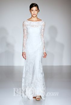 Brides: Wedding Dresses With Long Sleeves From The Bridal Runways | Wedding Dresses Style