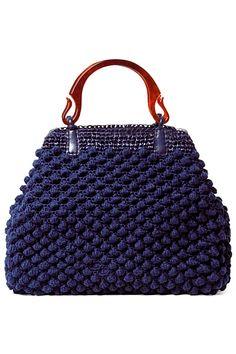Between threads and stitches Hobbies: hand bag Point Bag Crochet, Crochet Handbags, Crochet Purses, Crochet Hats, My Bags, Purses And Bags, Crochet Double, Macrame Bag, Knitted Bags