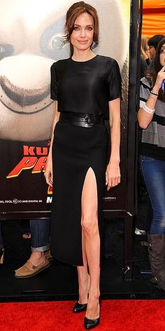 Angelina in Michael Kors perfection