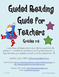 guided reading and more!