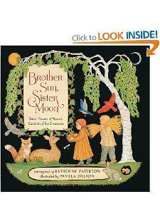 Amazon.com: Brother Sun, Sister Moon (9780811877343): Katherine Paterson, Pamela Dalton: Books