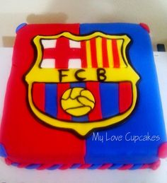 Barza Barcelona Cake, Soccer Cakes, Love Cupcakes, Cupcake Cakes, Clay, My Love, Desserts, Top, Ideas