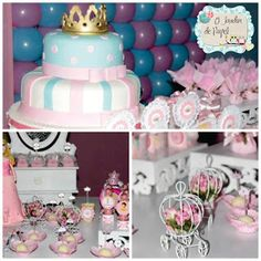 Festa Princesa e Pocoyo