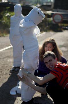 Mumie musí vypadat důkladně :-)
