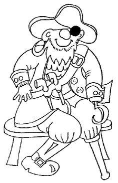 KleuterDigitaal - kp piraat met houten been