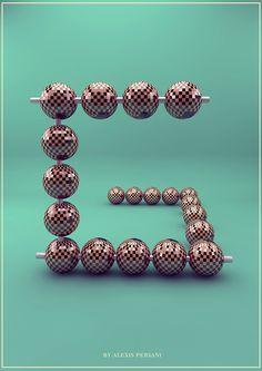 Creativ Alphabet by  Alexis Persani