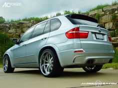 "2010 BMW X5 ///M | Pirelli Tires | 22"" AC Forged 312 - Bimmerfest ..."