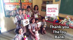 Watch our StudyMall children  Thanking our supporter organization TheToy Bank for sending amazing toys.https://www.youtube.com/watch?v=JqAdnTvE2TI&feature=youtu.be