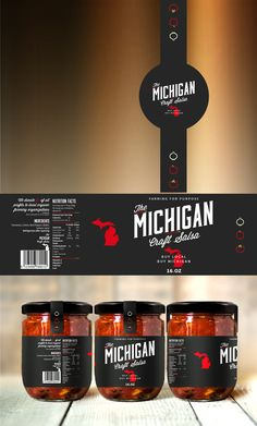 *** High end salsa maker, Michigan Craft Salsa, needs your talents to perfect our packaging! *** | 99designs