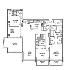 46 best the vue charlotte on 5th images 3 bedroom apartment rh pinterest com