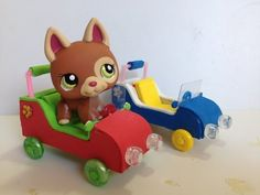 How to make LPS accessories: a Car / Buggy - YouTube