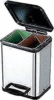 Poubelle De Tri Cuisine S 2 Amazon Fr Cuisine Poubelle Cuisine Tri Selectif Leroy Merlin Trash Can Tall Trash Can Container