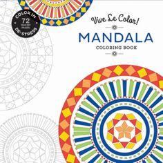 Mandala coloring - Vive Le Color! #abramsnoterie