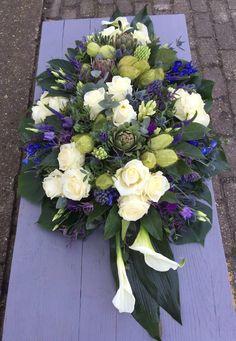 Grave Flowers, Funeral, Flower Arrangements, Floral Wreath, Wreaths, Decor, Decoration, Floral Arrangements, Decorating