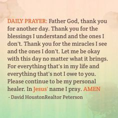 Daily devotionals from God's Word - Today Daily Devotional Prayer Scriptures, Bible Prayers, Faith Prayer, God Prayer, Catholic Prayers, Prayer Quotes, Salvation Prayer, Marriage Prayer, Faith Quotes