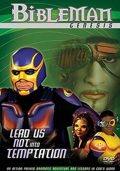 Bibleman Genesis Series: Lead Us Not Into Temptation - DVD | Bibleman battles the forces of darkness. | Available at ChristianCinema.com