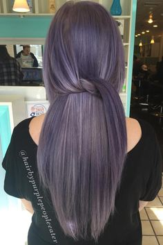 Stunning Silver Ombre Hair Ideas Youll Ever See ★ See more: http://glaminati.com/stunning-silver-ombre-hair-ideas/