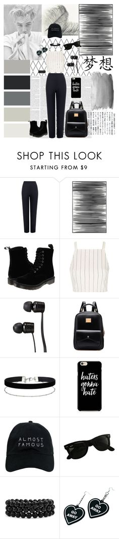 """""""💫 K I M  J O N G I N 💫 김종인 💫 by: Haru~❄ 💫"""" by kim-haru-badgirl-00 ❤ liked on Polyvore featuring WearAll, Seed Design, Art Addiction, Dr. Martens, Topshop, Vans, Miss Selfridge, Nasaseasons, Ray-Ban and Bling Jewelry"""