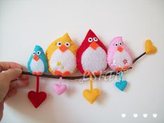 cıvıl cıvıl: dekoratif duvar süsü....love birds!