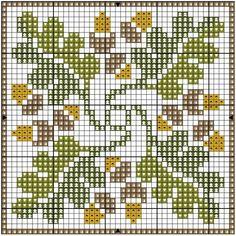 .Oak leaves & acorns :)