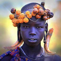 """Ethiopie: la vallée de l""""Omo; les Mursi. by claude gourlay, via Flickr"""