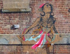 by Swoon, Brooklyn, NY, 2014 (LP)