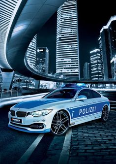 German BMW Police Car. If we had cop cars like this we would have dirty cops ever again.