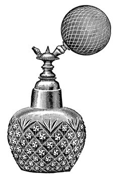 Vintage Perfume Atomizer ~ The Sum Of All Crafts