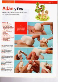 MIS REVISTAS PARA REPOSTERIA: LETICIA SUAREZ DEL CERRO (2012-Nº1) Cold Porcelain, Polymer Clay, Crafts, Etsy, Clay Tutorials, Owl, Boards, Decor Ideas, Drop