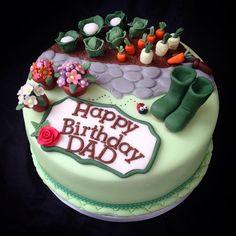 For+a+Keen+Gardener+-+Cake+by+Caron+Eveleigh