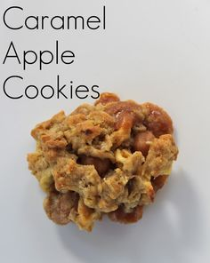 Caramel Apple Cookies, these are so good you will eat the whole batch in one sitting!