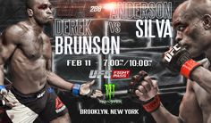 UFC 208 Anderson Silva vs Derek Brunson
