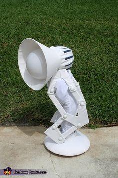 Pixar Lamp Luxo - 2014 Halloween Costume Contest    #Halloween #halloweencostumes