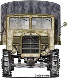 "Engines of the Wehrmacht - ""Mercedes L4500R"", 4,5-ton, Halftrack, Cargo Truck"