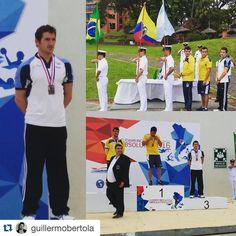 ORGULLO PIRATA @guillermobertola with @repostapp.    Primer día de competencia  podio sudamericano en los 5km 3ero muyyyy feliz  con un final demasiado cerrado entre el 3 4 y 5to lugar que sólo a traves del #fotofinish se pudo deliberar bien el 3 del 4to lugar a juntar fuerza y energía para pasado mañana los 10km y el domingo los 3km por equipo Compitiendo con toda la indumentaria de @22_sports.ok y representando a la selección argentina y a @mundobelgrano @belgranodp @clubatleticobelgrano…