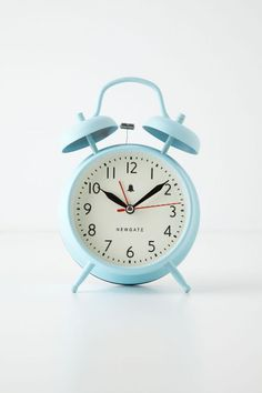 Newgate Clocks Covent Alarm Clock from Anthropologie. Shop more products from Anthropologie on Wanelo. My New Room, My Room, Dorm Room, Cute Alarm Clock, Alarm Clocks, Retro Alarm Clock, Small Alarm Clock, Cute Clock, Bedroom Decor