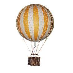 Floating the Skies luftballong, gul i gruppen Innredningsdetaljer / Dekorasjon / Trefigurer & Skulpturer hos ROOM21.no (131928)