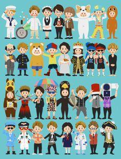 the many incarnations of Ohno Satoshi~厲害~