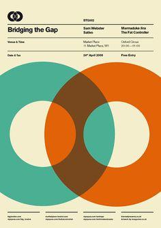 BTG London, Ross Gunter poster design.