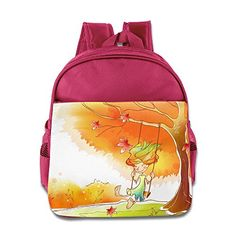 MYKKI Cute Children Design Backpack Pink * You can get additional details at the image link.